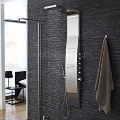 Shower in style with this Hudson Reed shower panel