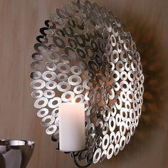 """Wandkerzenleuchter """"Circle"""" #Gingar #Lampe"""
