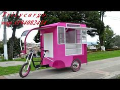 Exceptional custom motorcycles photos are offered on our web pages. Check it out and you wont be sorry you did. Coffee Carts, Coffee Truck, Coffee Shop, Food Cart Design, Food Truck Design, Vegan Food Truck, Bike Food, Coffee Trailer, Food Truck
