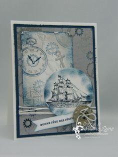 Papier-argile Simply Pressed, création de carte, Stampin'UP!, Jardin de papier
