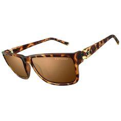 Tifosi Hagen XL Brown Polarized Lens Sunglasses - Matte Tortoise