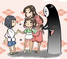 Somebody finally included Lin in their fanart!! I love you guys!! :D Team Spirited Away.