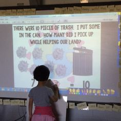 Students find the missing addend while learning how to help the earth! Great for the interactive board! Primary Classroom, Kindergarten Classroom, Interactive Board, Math Problem Solving, Math Problems, Working With Children, Science Lessons, Earth Day, Students