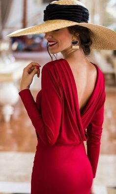 DANA BACKLESS DRESS in RED – KOOGAL
