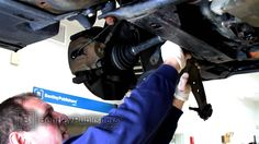 http://www.strictlyforeign.biz/default.asp BMW 3 Series E46 Front Lower Control Arm, Replacing - How To Replace