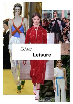 FASHION VIGNETTE: TRENDS // VOGUE - THE BIGGEST TRENDS FOR RESORT 20...