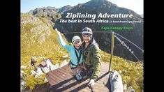 The best Zipline Adventure in South Africa with Cape Canopy Tours - one hour from Cape Town - Elgin Valley, Cape Nature World Heritage Site - Hottentots Holl. Zipline Adventure, Safari Holidays, Africa Travel, Travel Couple, World Heritage Sites, Cape Town, Cool Places To Visit, Gopro, Canopy
