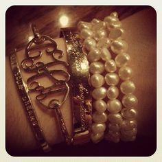 Cute..Love The Initial Bracelet