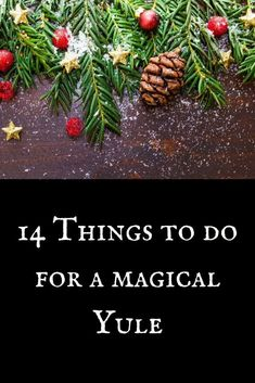 Yule Traditions, Winter Solstice Traditions, Winter Solstice Rituals, Pagan Christmas, Christmas Holidays, Christmas Crafts, Christmas Ideas, Simple Christmas, Decoration Christmas