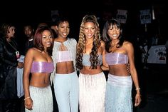 "So Many Feminist AnthemsLadies in the '90s looking for girl-power jams weren't limited to the Spice Girls. There was Whitney's ""I'm Every Woman,"" Destiny's Child's ""Bills, Bills, Bills,"" TLC's ""No Scrubs,"" and of course, ""What a Man,"" that ace collabo between En Vogue and Salt-N-Pepa. #refinery29 http://www.refinery29.com/2015/05/86849/best-randb-moments#slide-13"