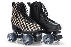 Patins da Melissa Roller Joy de plástico, com estampa estilosa para você patinar fashion por aí!