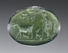 Unknown, Engraved Gem, Roman, late 1st century, Chrome chalcedony - See more at: http://search.getty.edu/gateway/search?q=&cat=type&types=%22Jewelry%22&rows=50&srt=&dir=s&dsp=0&img=0&pg=4#sthash.WPzxX5KV.dpuf
