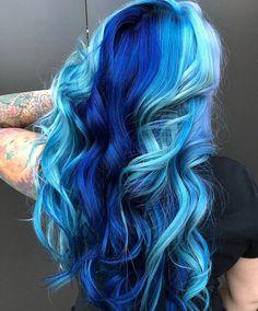 61 crazy pastel hair color ideas for unique hairstyles 00031 Purple Hair, Ombre Hair, Aqua Hair, Pastel Hair, Pulp Riot Hair Color, Galaxy Hair, Pretty Hair Color, Coloured Hair, Pinterest Hair
