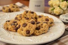 Cookies de banana com aveia e gotas de chocolate   Receitas e Temperos