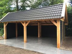 Carport Plans, Carport Garage, Barn Garage, Woodworking Garage, Cool Woodworking Projects, Outdoor Tables, Outdoor Spaces, Outdoor Decor, Lean To Shelter