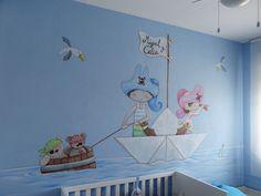 decoracion en paredes infantiles