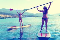 Paddleboarding!! Totally gonna be doing this soon!