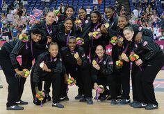 Women's Gold winner football team