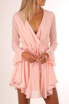 Leona Dress Pink