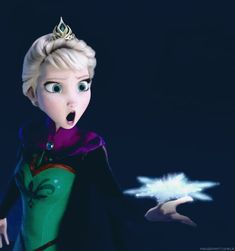 Elsa singing Let It Go: | Community Post: 18 Reactions We All Had While Watching FROZEN