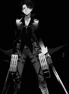 Levi looking bad ass as usual
