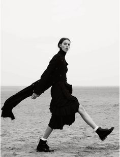 "inspiration for www.duefashion.com Josefien Rodermans in ""The New Puritan"" by Aitken Jolly for ELLE UK, October 2014"