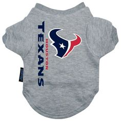 Houston Texans NFL Dog Tee Shirt
