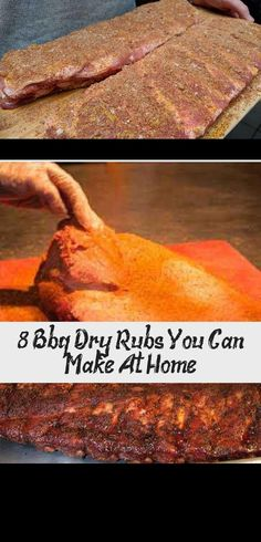 8 Bbq Dry Rubs You Can Make At Home - Recipe - Looking for a great dry rub for . - 8 Bbq Dry Rubs You Can Make At Home – Recipe – Looking for a great dry rub for your next barbe - Smoked Meat Recipes, Rub Recipes, Home Recipes, Smoked Beef Brisket, Smoked Pork, Bbq Dry Rub, Dry Rubs, Potluck Recipes, Grilling Recipes