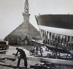 Chantier naval Camaret : Keraudren, Le Bris, Boënnec, Péron | Finistère | Bretagne | #myfinistere