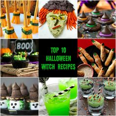 Top 10 Halloween Witch Recipes!