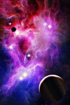 Artist Impression of the Universe