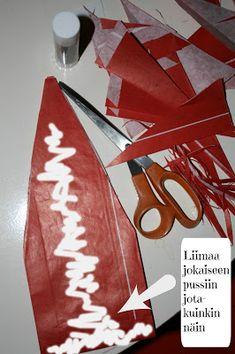 Vintagentti: DIY: Maailman nopein paperitähti Flag, Diy, Do It Yourself, Bricolage, Science, Handyman Projects, Flags, Crafting, Diys