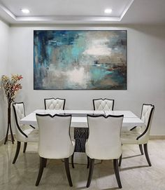 Abstract Painting Canvas/ Large Wall Art Abstract Art/ Large
