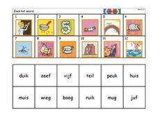 Kaarten Mini Loco - kern 6 by HJ Pet - issuu Teaching Materials, Sensory Activities, Pre School, Projects For Kids, Mini, Spelling, Homeschool, Cards, Letters