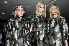 London Fashion Week - Learn how to hand render a camo print: http://www.universityoffashion.com/lessons/rendering-camouflage/