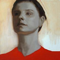 Portrait à l'huile sur panneau, painting, portrait, sketch oil on panel