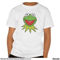 The muppets - Kermit la cabeza del dibujo animado de la rana remeras. Producto disponible en tienda Zazzle. Vestuario, moda. Product available in Zazzle store. Fashion wardrobe. Regalos, Gifts. Link to product: http://www.zazzle.com/kermit_la_cabeza_del_dibujo_animado_de_la_rana_remeras-235144598461421619?lang=es&CMPN=shareicon&social=true&rf=238167879144476949 #camiseta #tshirt