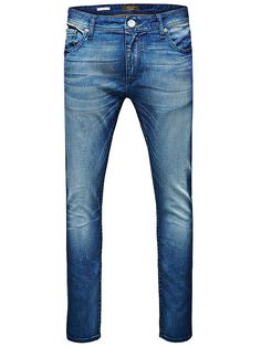 PREMIUM by JACK & JONES - Skinny-Fit-Jeans von PREMIUM - Low rise - Schmale Oberschenkel- und Knieform - Enge Beinabschlüsse - Hosenschlitz mit Reißverschluss - Klassisches 5-Taschen-Modell - Stretch-Qualität 99% Baumwolle, 1% Elasthan...