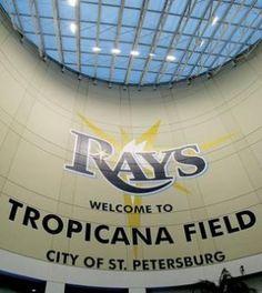 Tropicana Field, St. Petersburg, FL...home of the Tampa Bay Rays baseball team.