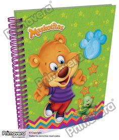Cuaderno Pasta Dura Maskotitas http://escolar.papelesprimavera.com/product/cuaderno-pasta-dura-infantil-primavera-5/