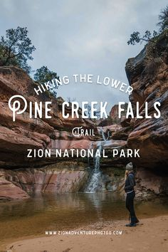 Get all the details about the Lower Pine Creek Falls - Secret Waterfall Hike in Zion National Park