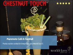 Ven a probar nuestro cocktail de temporada para #WorldClass15 @MaremotoCafe @Chusbartender Te sorprendera!