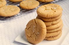 Browned Butter Salty Sugar Cookies - Bake or Break