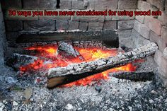 30 ways you have never considered for using wood ash - so many of us have wood burners at home, so why not check out 30 ways you can use the left of wood ash...