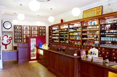 Arguably London's oldest apothecary, there are shelves brimming with herbs, tonics, tinctures, aromatherapy oils, beauty products, health foods and supplements: http://www.timeout.com/london/shopping/g-baldwin-co