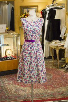 Cabaret Vintage - 1950s Vintage Pretty Floral Day Dress, $125.00 (http://www.cabaretvintage.com/dresses/1950s-vintage-pretty-floral-day-dress/)