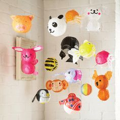 How #cute are these Japanese Paper #Balloons? They'd look great in your little one's #nursery.