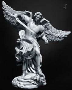 Arcangel, Sebastian Torres on ArtStation at https://www.artstation.com/artwork/arcangel