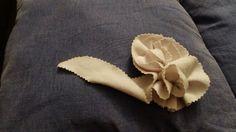 yo elijo coser: DIY: cómo hacer flores con un plato y unas tijeras dentadas