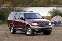 As a consolation for no longer being Ford's biggest SUV, the Expedition got optional front side airbags and rear obstacle detection for Ford Expedition, Blues, Owners Manual, 2000s, Vehicles, Car, Truck, Life, Automobile